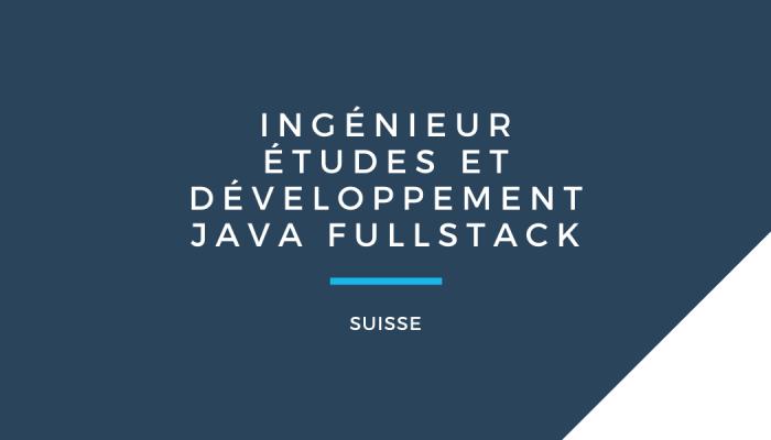 Ingenieur Java Fullstack Astrelya