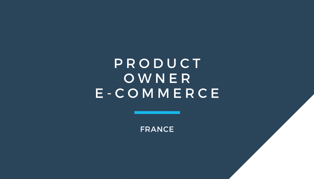 Product Owner e-commerce